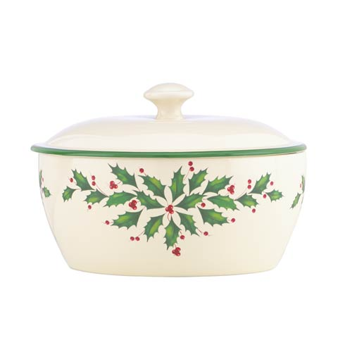 Lenox  Hosting the Holidays Covered Casserole Dish $40.00