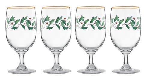 Lenox  Holiday 4-piece Iced Beverage Glass Set $39.95