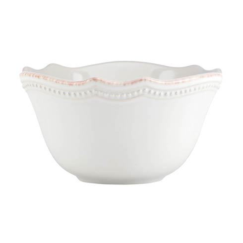 Lenox French Perle Bead White Fruit Bowl $15.95