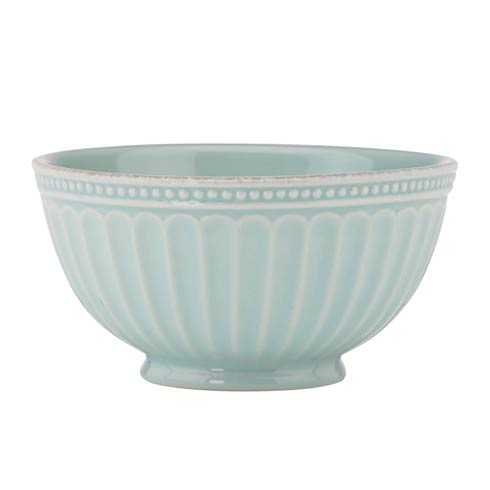 Lenox French Perle Groove Ice Blue Bowl $12.95