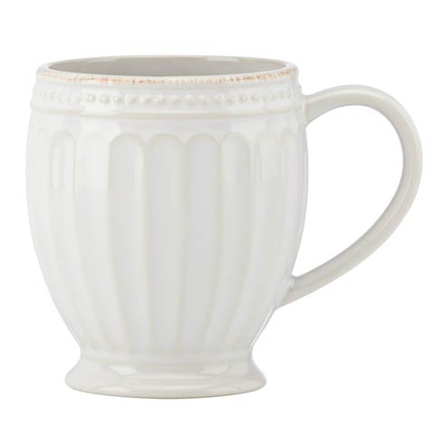 Lenox French Perle Groove White Mug $12.95