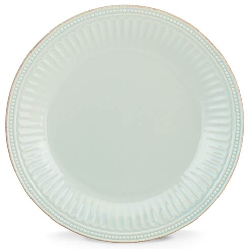 Lenox French Perle Groove Ice Blue Dinner Plate $22.95