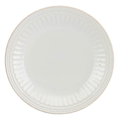 Lenox French Perle Groove White Accent Plate $19.95