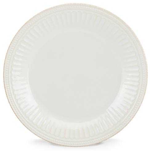 Lenox French Perle Groove White Dinner Plate $22.95