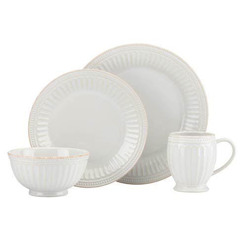 Lenox French Perle Groove White 4-piece Place Setting $69.95