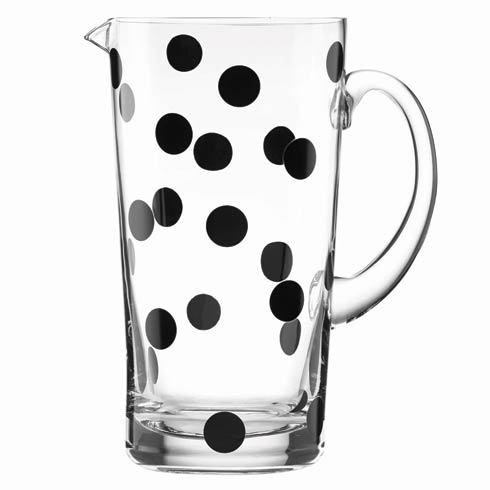 Kate Spade  Deco Dot Pitcher $40.00