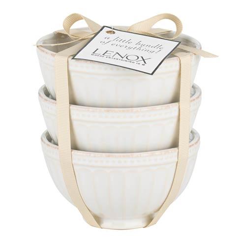 $11.95 3-piece White Mini Bowl Set