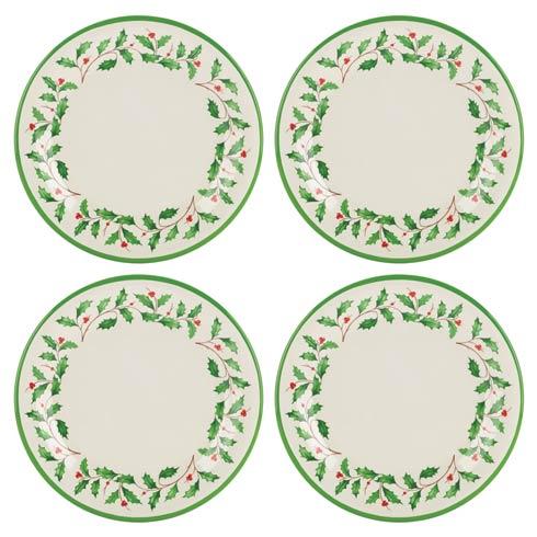 $29.95 4-piece Melamine Dinner Plate Set