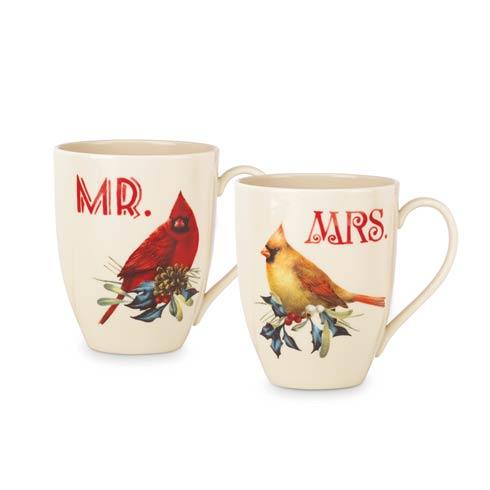 $19.95 2-piece Mr & Mrs Mug Set