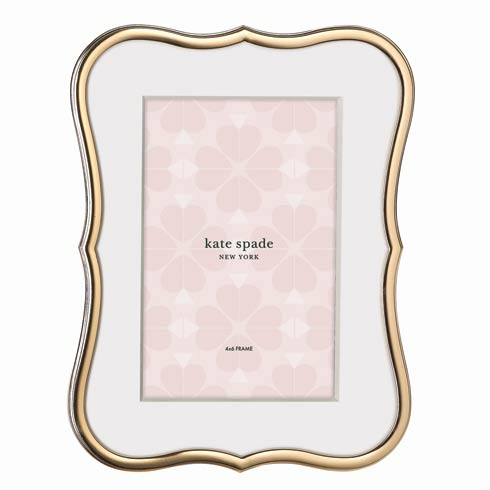 Kate Spade  Crown Point Gold Frame 4X6 $60.00