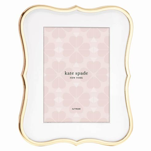 Kate Spade  Crown Point Gold Frame 5X7 $75.00