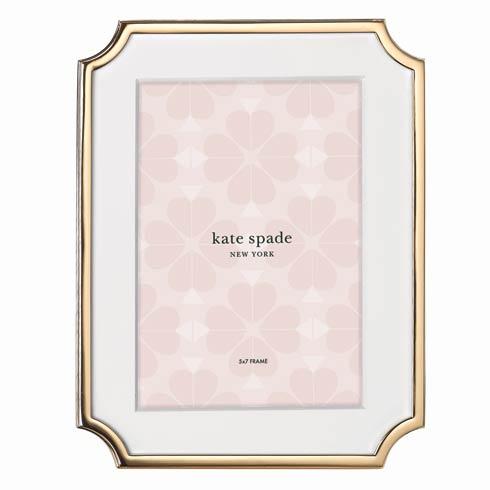 "Kate Spade  Sullivan Street Gold Frame 5"" X 7"" $75.00"
