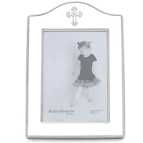 $95.00 Personalizable Cross Frame 5X7