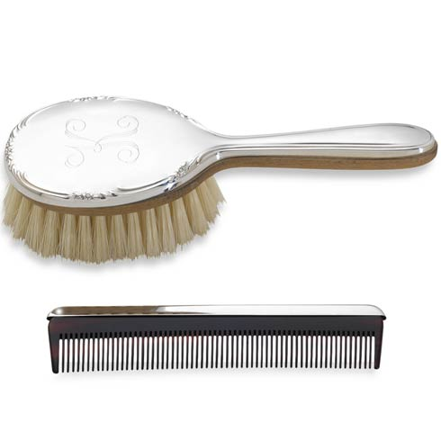 Personalizable Girls Brush And Comb