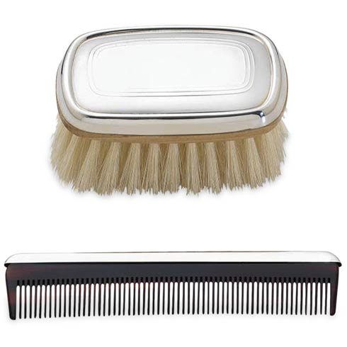 $150.00 Personalizable Boys Brush And Comb Set