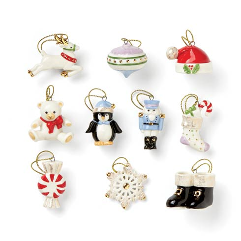 Lenox  Ornaments Christmas Memories 10-piece Ornament Set $79.95