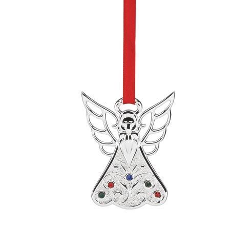 $7.95 Jeweled Silver Angel Charm