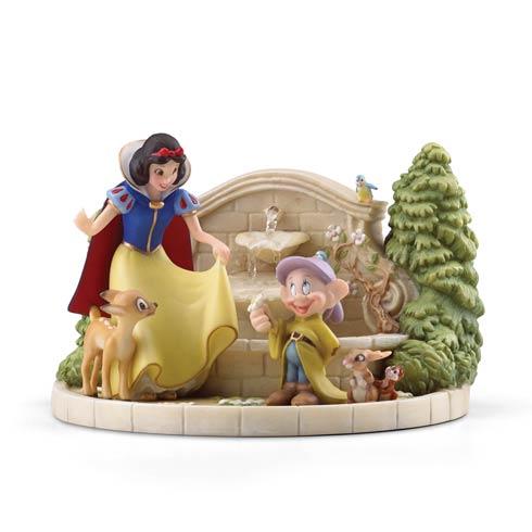 $199.95 Snow White\'s Charming Garden Fountain