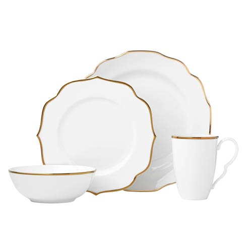 Lenox Contempo Luxe Gold 4-piece Place Setting $99.95