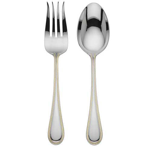Reed & Barton  Lyndon Gold 2-piece Salad Set $30.00
