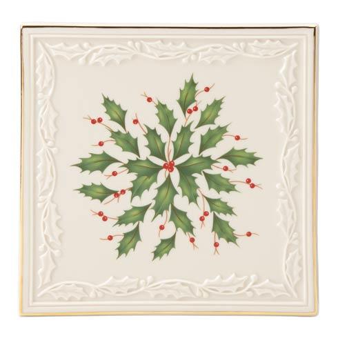 Lenox  Hosting the Holidays Carved Trivet $30.00