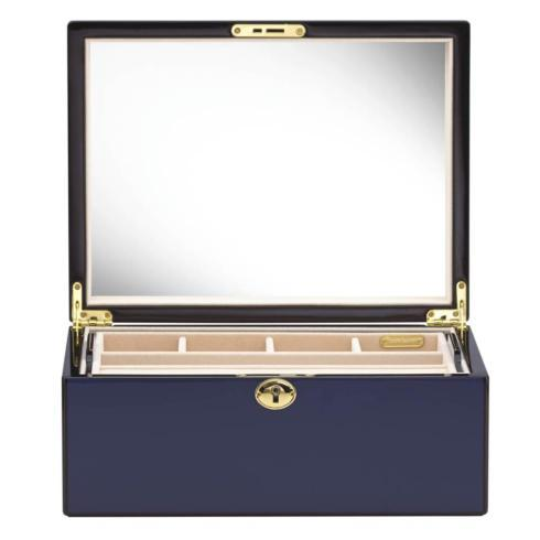 $210.00 Navy Jewelry Box