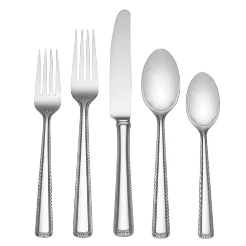 $30.00 Flatware 5 Piece Place Set