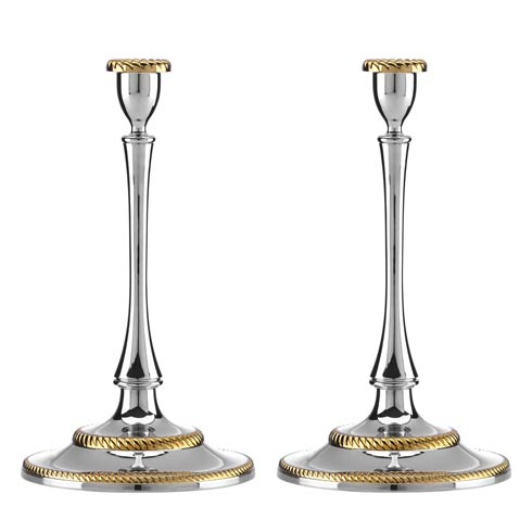 Reed & Barton  Roseland Candlestick Set of 2 $150.00