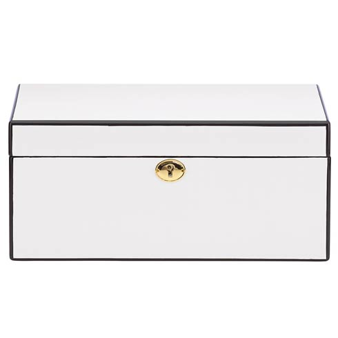$210.00 White Jewelry Box