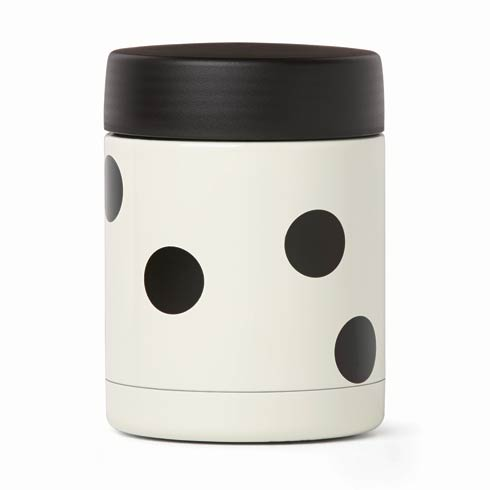 $25.00 Deco Dot Insulated Food Container
