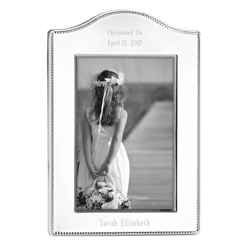 $60.00 Personalizable Curved Frame 4X6