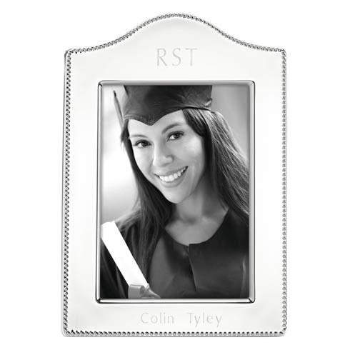 $70.00 Personalizable Curved Frame 5X7