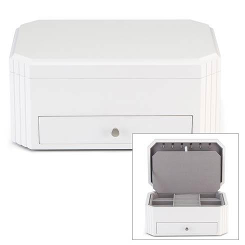 $210.00 White Jewelry Box