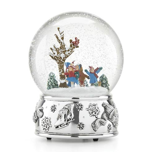 $50.00 Ice Skating Snowglobe
