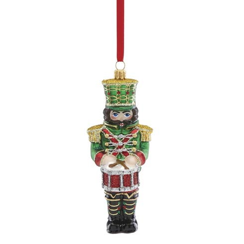 Reed & Barton  Christmas Reflections Nutcracker With Drum Ornament $70.00