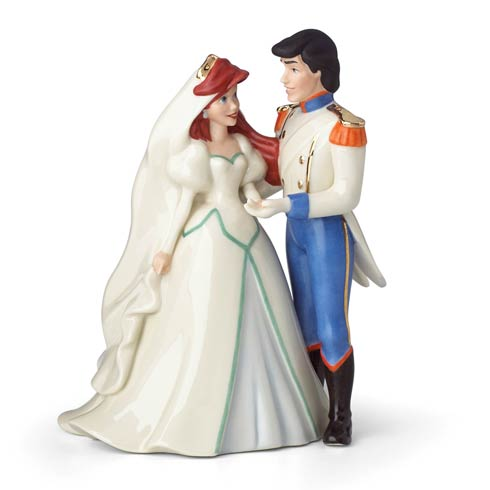$114.95 Ariel And Prince Eric Figurine
