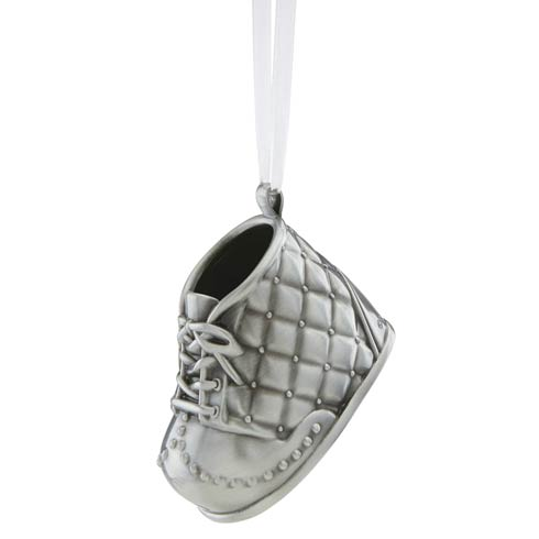 $50.00 Boys Baby Shoe Ornament