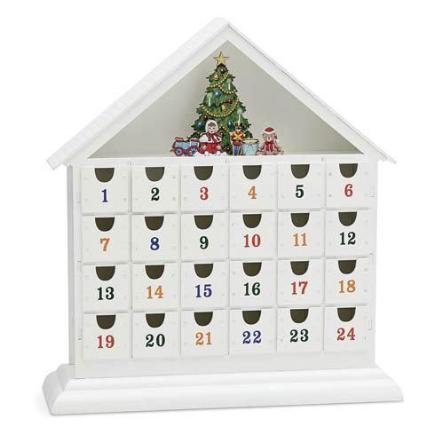 Reed & Barton  Classic Christmas Vintage Advent Calendar $125.00