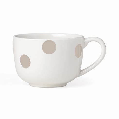 $12.00 Biege Latte Mug