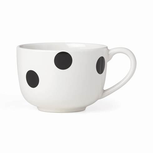 $12.00 Black Latte Mug