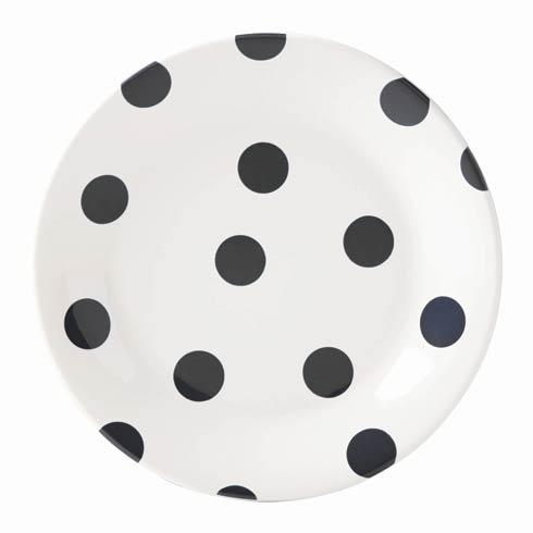 Kate Spade  Deco Dot Black Salad Plates, Set of 4 $45.00