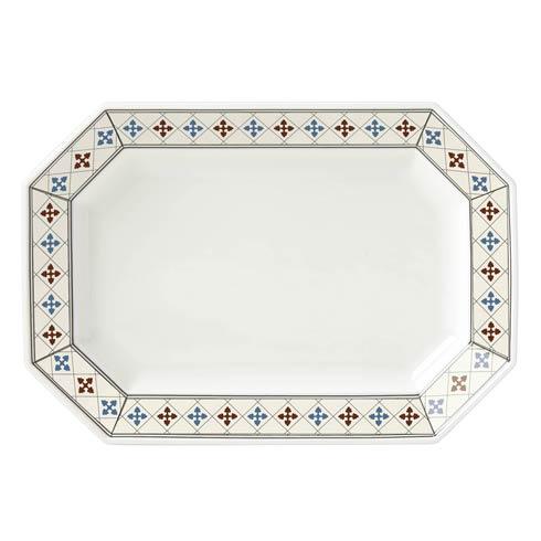 $75.00 Oct Platter  Red 14.0