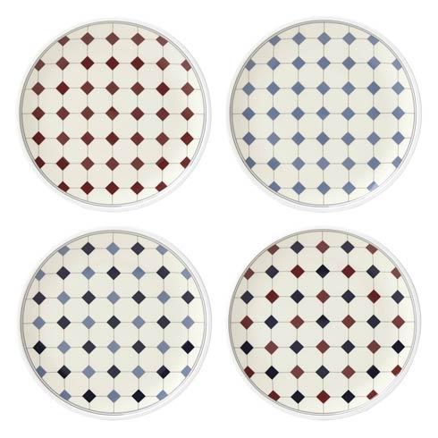 $50.00 Tidbit Plates Set of 4