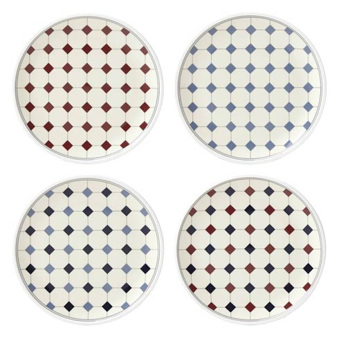 $50.00 Tidbit Plates Set of 4