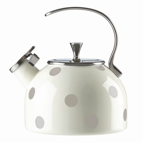 $60.00 Beige Metal Kettle