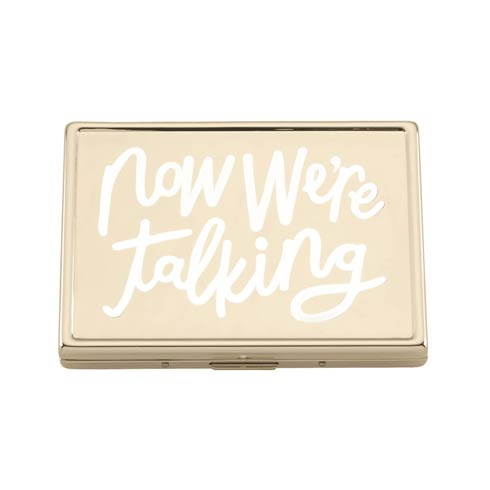 "$40.00 ""Now We\'re Talking"" Id Holder"