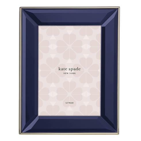 """Kate Spade  Charles Lane Inidgo 5"""" X 7"""" Frame $50.00"""