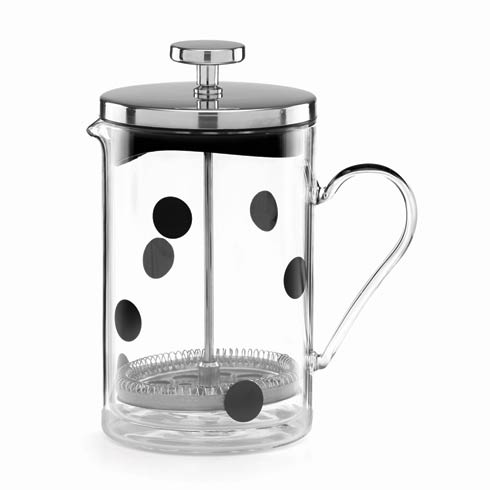 $70.00 Deco Dot Glass French Press