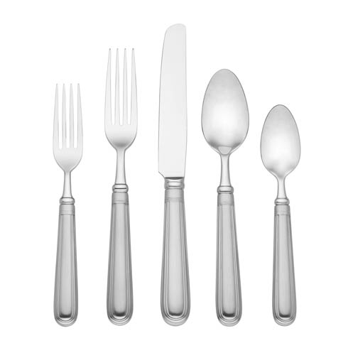 $70.00 Flatware 5 Piece Place Setting