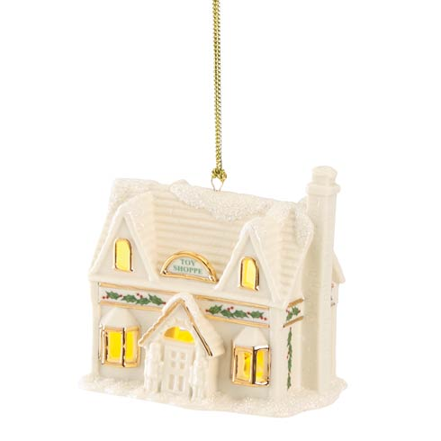 $29.95 Christmas Village Toy Shoppe Lighted Ornament